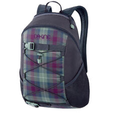 Dakine WONDER 15L Tartan Plaid Skateboard Carry Bungee Storage Rucksack Backpack
