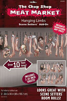Halloween Meat Market Decoration Scene Setters Hanging Limbs wall decoration