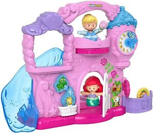 Fisher Price Little People Disney Princess Play Go Castle Set New Kids Xmas Toy