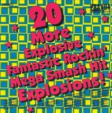Various Artists - 20 More Explosive - Fastbacks Dayglo Abortions Posies NEW