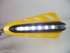 Nuevo Amarillo LED protectores Moto Suzuki DRZ H. LTZ GSF GSXR Streetfighter