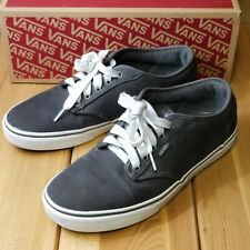 VANS Authentic OFF THE WALL GREY Skate Casual Shoe; Men's Size 8.5