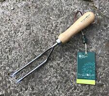 Burgon & Ball Stainless Steel Weeding Fork - RHS Endorsed - Garden, Tool Rockery