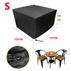 Waterproof Garden Patio Furniture Cover Rattan Table Cube Seat Outdoor Protect
