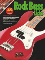 Progressive ROCK BASS GUITAR LICKS Tutor Sheet Music Book & CD Shop Soiled