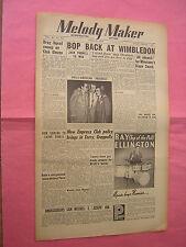 MELODY MAKER. APRIL 22nd 1950. JAZZ & SWING etc. MUSIC MAGAZINE. VINTAGE MAG