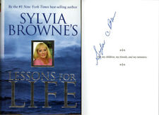 Sylvia Browne SIGNED AUTOGRAPHED Lessons For Life HC 1st Ed 1st Print Psychic