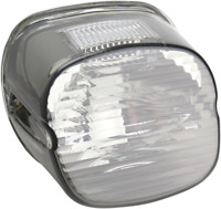 Drag Specialties Laydown Taillight Lens with Top Tag Window 2010-0778