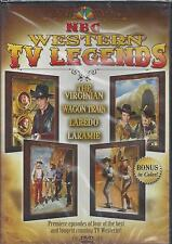 NBC TV LEGENDS PREMIERE EPISODE THE VIRGINIAN WAGON TRAIN LAREDO LARAMIE NEW DVD