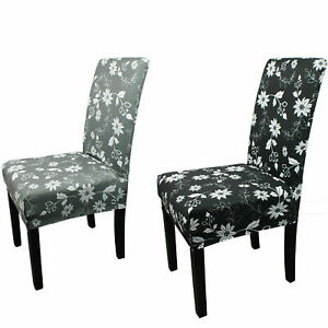 Stretch Spandex Chair Covers Dining Room Slip Seat Cover Wedding Party Decor