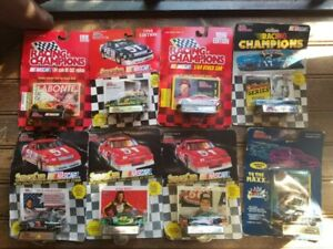8 Sealed Nascar 1/64 Diecast Stock Cars Collectors Lot/Dale Earnhardt/Petty/MAXX