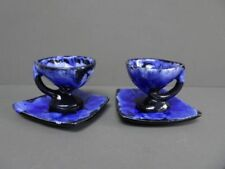 Blue Ceramic Vintage Original European Art Pottery