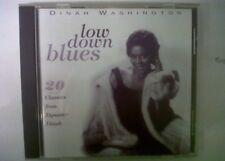 CD  DINAH WASHINGTON low down blues