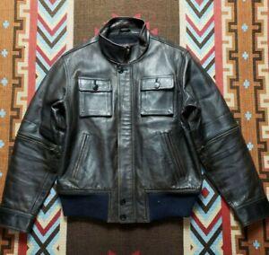 RRL Double RL Ralph Lauren MilitaryLeather Jacket
