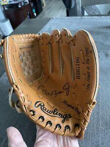 """Rawlings RBG106 Cal Ripken Jr. Baseball Glove Mitt Right Hand Thrower 10"""""""