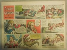 Flash Gordon Sunday Page by Mac Raboy from 8/15/1954 Half Page Size
