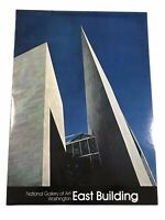 """Vintage National Gallery Of Art Washington Poster East Building 35""""x 25"""" Rare"""