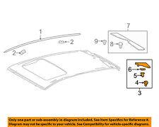 TOYOTA OEM 16-17 Prius Roof-Finish Molding Left 7505647010
