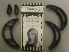 5pc Bumpits Big Happie Hair Volumizing Inserts - Black