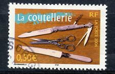 STAMP / TIMBRE FRANCE OBLITERE N° 3646 LA COUTELLERIE