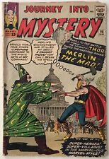 Journey Into Mystery 96 - Merlin App. / Pres. John F. Kennedy Cameo - Jack Kirby