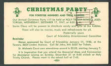 1948 PC DAYTON OH CATHOLIC ORDER OF FORESTERS XMAS PARTY