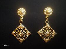 Women Fancy Earring /E16 Indian 22K Gold Plated
