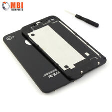 New Replacement Back Rear Glass Battery Cover for iPhone 4S 4GS A1387 - Black