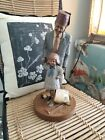 """Shriner & Hope by Tom Clark  Figurine Marked 1987 #2017 12"""" by 5"""""""