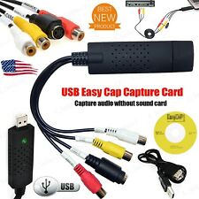 Easycap USB 2.0 Audio VHS to DVD Converter Capture Recorder Analog Video Digital