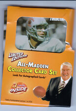 All-Madden Team--20th Anniversary--Tinactin 2005--3 Cards SEALED w/ promo folder