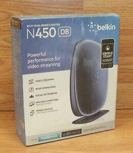 Genuine Belkin (N450) Wi-Fi Dual Band Version 3143 N Router For Video Streaming
