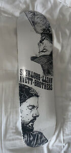 THE AVETT BROTHERS - Skateboard Deck - Brown - *Sealed* 2021 Tour WOW
