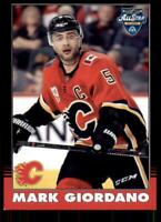 2020-21 UD O-Pee-Chee Retro Black Border 264 Mark Giordano /100 Calgary Flames