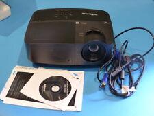 INFOCUS IN126A WXGA 3D DLP PROJECTOR 40 LAMP HOURS