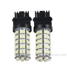 2Pcs Xenon White 3157 68-SMD Car DRL Daytime Running LED Bulb Lights 3157-68 NEW