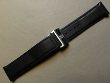 Timex TX T3C176 650 Flyback Chronograph Dual Time Black Padded 21mm Watch Band