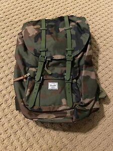 NEW Herschel Little America Backpack In CAMO NWOT *UNDER RETAIL!* Must See!