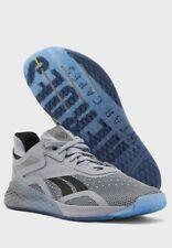 Reebok US 11 Mens Nano X Hero Running Training Shoes Grey BNIB