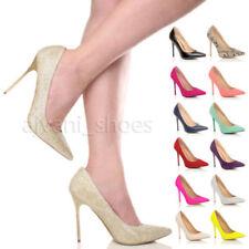 Calzado de mujer zapatos de salón de tacón alto (más que 7,5 cm) de sintético