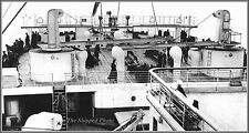 Photo: RMS Titanic's Top Deck At The Stern With Passengers, Queenstown, 1912