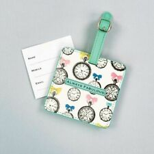 White Luggage Tags