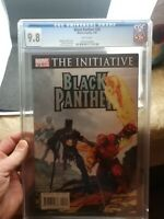 BLACK PANTHER #28 - CGC 9.8 WHITE PAGES - Art Suydam Marvel Zombie cover