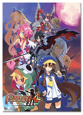 Disgaea 4 Group Wall Scroll Poster Anime Cloth Licensed NEW