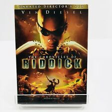 Chronicles of Riddick (DVD, 2004, Unrated Directors Cut - Widescreen) Slip Cover