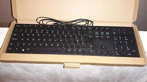 Dell KB216-BK-UK USB Wired Keyboard, in black. New in box.