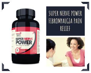 New Summer Offer Fibromyalgia Pain Relief Super Nerve Power 60 Caps