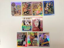 MOVIE POSTERS STARS MONSTERS & COMEDY Breygent Complete Chase Card Set VS1-VS9