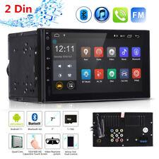 "7"" Car Autoradio 2Din Android 7.1 GPS Navi WIFI RDS Mirror Link MP5 Lettore 16GB"