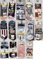 Official Character Licensed Ladies Socks Shoe Liner Disney Womens Girls Gift NEW